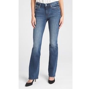 Gap Long and Lean Boot Cut Mid Rise Stretch Jeans